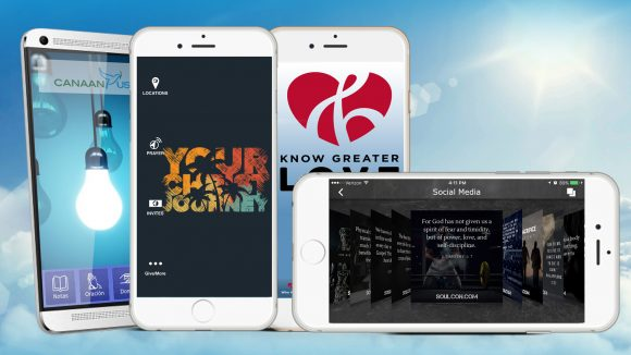 Ministry Mobile App Design